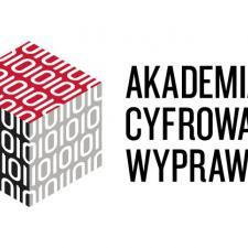 Element dekoracyjnyL logo Akademii Cyfrowej Wyprawki