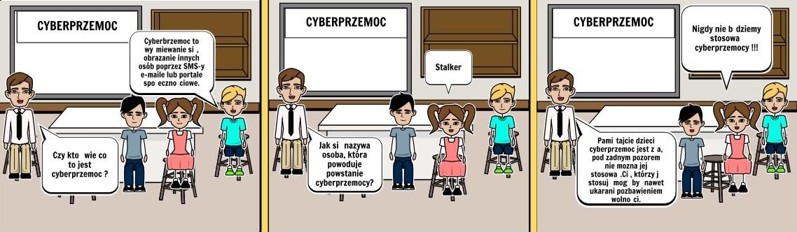 Komiks stworzony przez uczniów SP 355 w Warszawie